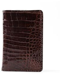 Anne Sisteron - Crocodile Card Holder - Lyst