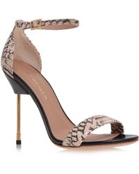 Kurt Geiger Belgravia High Heel Sandals - Lyst