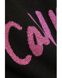 Sibling - Call Me Intarsia Merino Wool-blend Sweater - Lyst