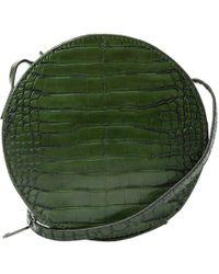 Mango - Croc-effect Shoulder Bag - Lyst