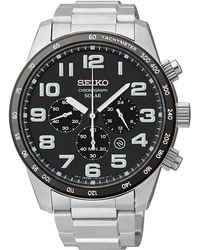 Seiko Mens Solar Stainless Steel Watch - Lyst