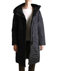 Sempach | Black Quilted Parka | Lyst