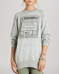 BCBGeneration Sweatshirt Oversize Graphic - Lyst