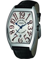Franck Muller - Men's Limited Edition Usa Curvex Watch With Alligator Strap - Lyst