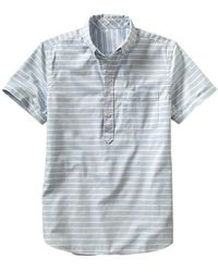 Gap Modern Oxford Popover Shirt - Lyst