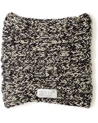 Marc By Marc Jacobs Monochrome Merino Wool Snood - Lyst