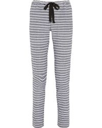 Lemlem Tara Striped Cotton Blend Pants - Lyst