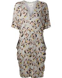 Henrik Vibskov Loose Fit Printed Dress - Lyst