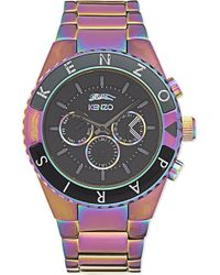 348c973b KENZO - Rendez-vous Watch, Men's, Black - Lyst