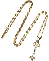 Isabel Marant Watergate Gold-tone and Enamel Necklace - Lyst