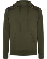 Balmain Military Cotton Hoody - Lyst