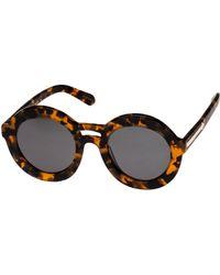 Karen Walker Joyous Sunglasses with Pouch - Lyst