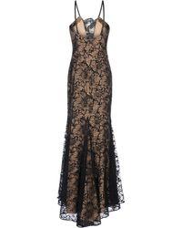 Vera Wang | Long Dress | Lyst