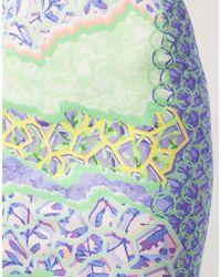 Peter Pilotto - Printed Pencil Skirt - Lyst