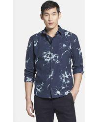 Vince Men'S 'Melrose' Trim Fit Print Sport Shirt - Lyst