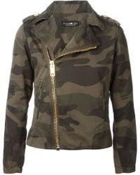 Hydrogen - Camouflage Pattern Military Jacket - Lyst