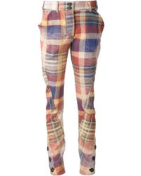 Vivienne Westwood Anglomania Twisted Trousers - Lyst