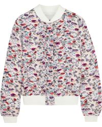 MSGM Full-Length Jacket multicolor - Lyst