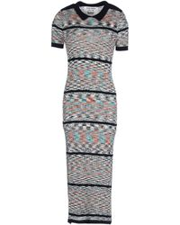 Henrik Vibskov 3/4 Length Dress gray - Lyst
