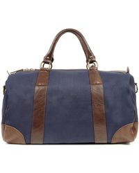 Polo Ralph Lauren - Navy And Brown Holdall - Lyst