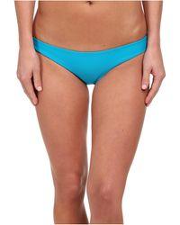 Mikoh Swimwear Zuma Basic Fuller Cut Bottom blue - Lyst