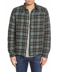 Threads For Thought - Regular Fit Reversible Flannel Shirt - Lyst