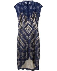Lover Venus Frenchlace Dress - Lyst