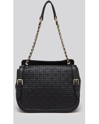 Tory Burch Quilted Cut Out Shoulder Bag 11