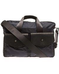 Bill Amberg - London Nylon Briefcase - Lyst