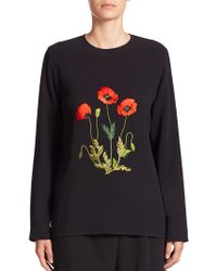Stella McCartney | Louisa Embroidered Top | Lyst