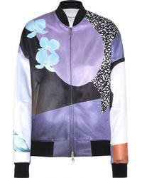 3.1 Phillip Lim Printed Bomber Jacket - Lyst