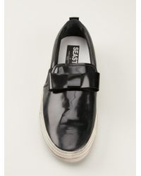 Golden Goose Deluxe Brand - Bow Slipon Sneakers - Lyst