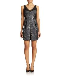 French Connection Sparkle Ray Mini Dress - Lyst