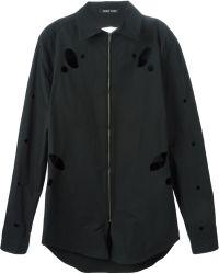 Damir Doma 'Stony' Shirt Jacket black - Lyst