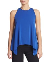Rachel Zoe Chain-Detail Swing Top blue - Lyst