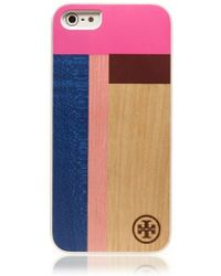 Tory Burch Color-Cube Case For Iphone 5 - Lyst