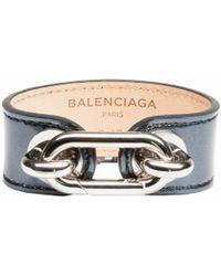 Balenciaga Holiday Collection Maillon Bangle - Lyst