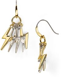Marc By Marc Jacobs Bolt Cluster Earrings - Lyst