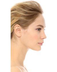 Campbell - Fang Ear Cuff - Gold - Lyst