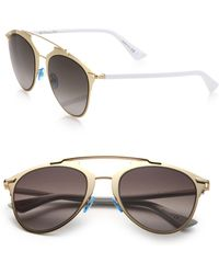 Dior Reflected 52Mm Modified Pantos Sunglasses - Lyst