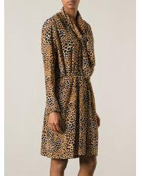 Yves Saint Laurent Vintage Leopard Dress - Lyst