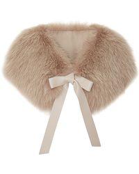 Elie Saab Moonstone Fox Fur Stole - Lyst