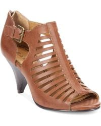 Rampage Alixer Caged Shooties - Lyst