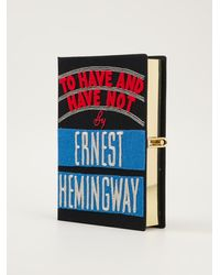Olympia Le-Tan To Have and Have Not By Ernest Hemingway Book Clutch - Lyst