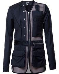 Hood By Air Mesh Military Jacket black - Lyst