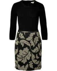 Burberry Brit Wool Sheath Dress - Lyst