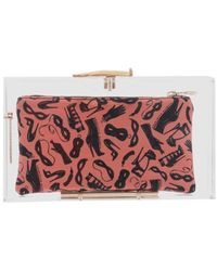 Charlotte Olympia Pandora Hands On Clutch - Lyst
