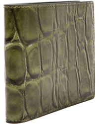 Raf Simons Mens Printed Snake Bi-fold Wallet - Lyst