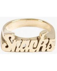 Snash Jewelry | Snacks Ring | Lyst