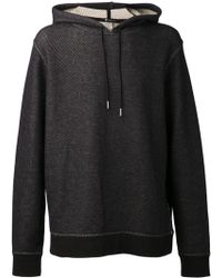 T By Alexander Wang - Twill Knit Hoodie - Lyst